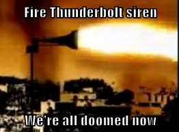 Fire Thunderbolt siren by tigerclaw64