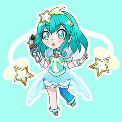 Cure Milky Chibi