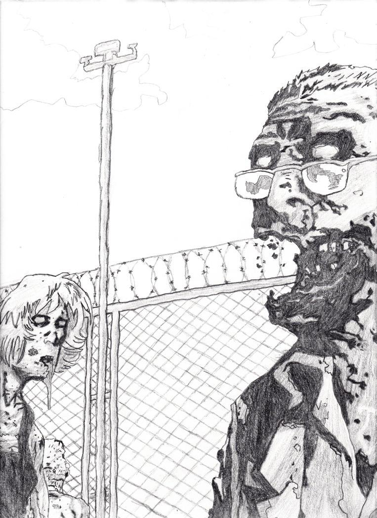 Walking Dead - Zombies by stonerloner