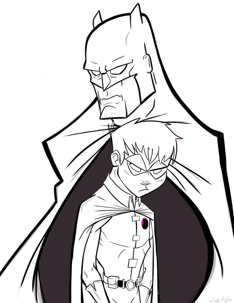 Batman and Robin by JeffMyles on DeviantArt