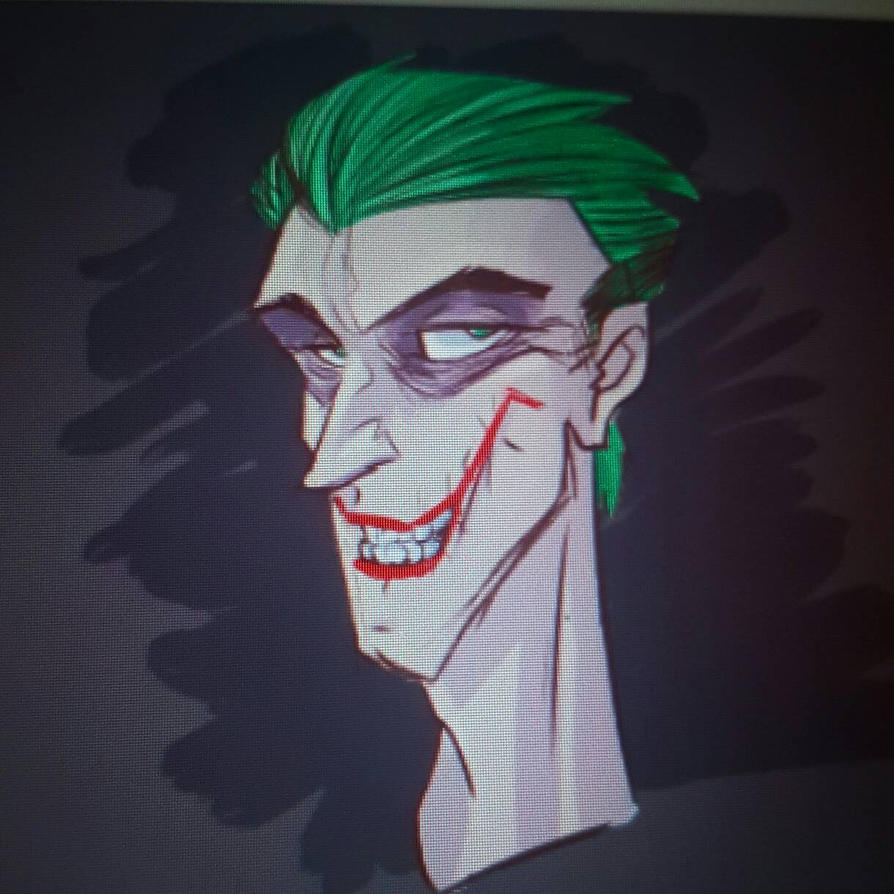 Joker digital colour warm up. by JeffMyles