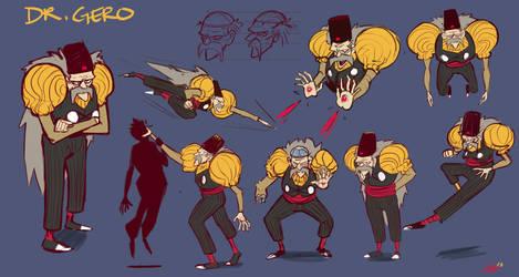 Dr.Gero Dragonball Z Character Design Challenge