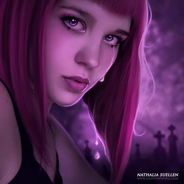 Dark Tears of Crystal by Lady-Symphonia