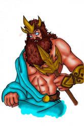 Poseidon by jordskimar