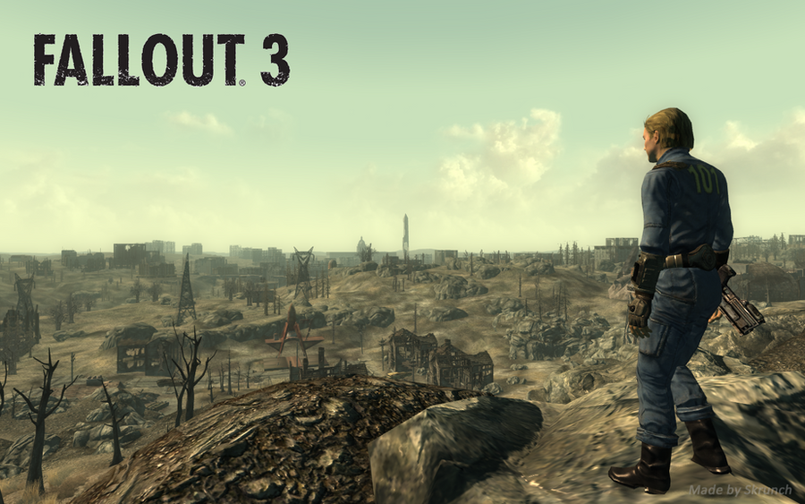 Fallout 3 wasteland wallpaper by skrunch boy on deviantart fallout 3 wasteland wallpaper by skrunch boy thecheapjerseys Images