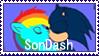 sonxdash stamp by kaiamurosesei