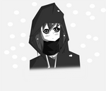 Manga Girl snow