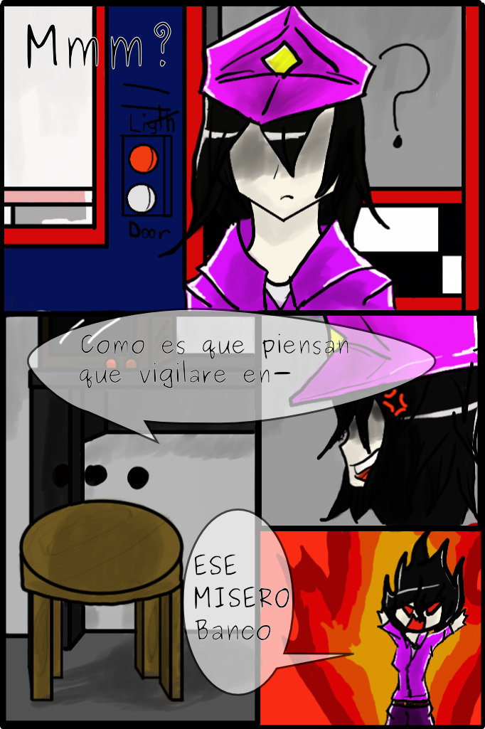 Five nigths at freddy's Comic pagina 6