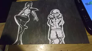 Poster Part 2: Mettaton And Sans