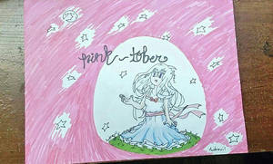 Pink - Tober #InkTober Day 4