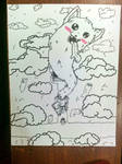 Inktober Lesser Dog Day 5# Long
