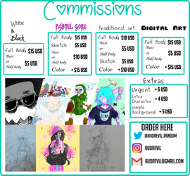 Open Commissions!