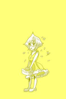 Peridot - Yellow Dress