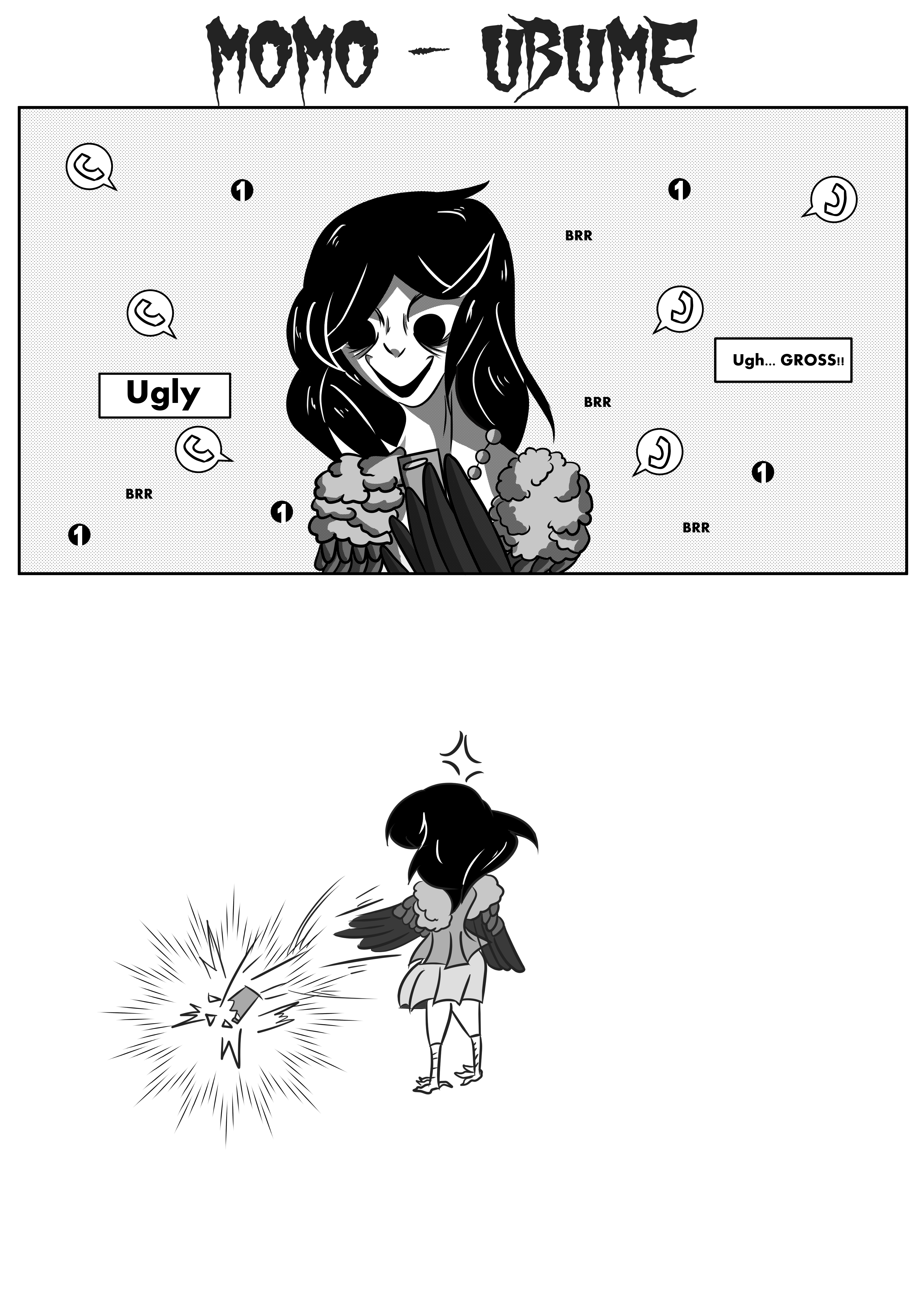 DONT BE RUDE WITH HER!! Ubume - Momo
