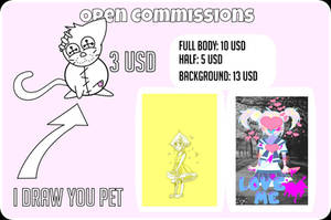Open Commissions! by audrevil