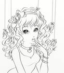 Candy Lucy Lineart