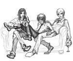 Silver trio