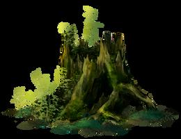 The stump by VivienKa