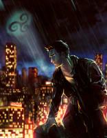 Beacon Hills Batman by VivienKa