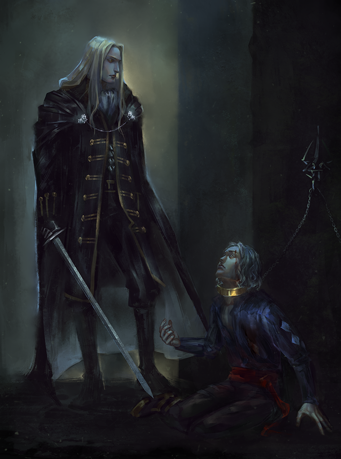 Unlikely savior by VivienKa