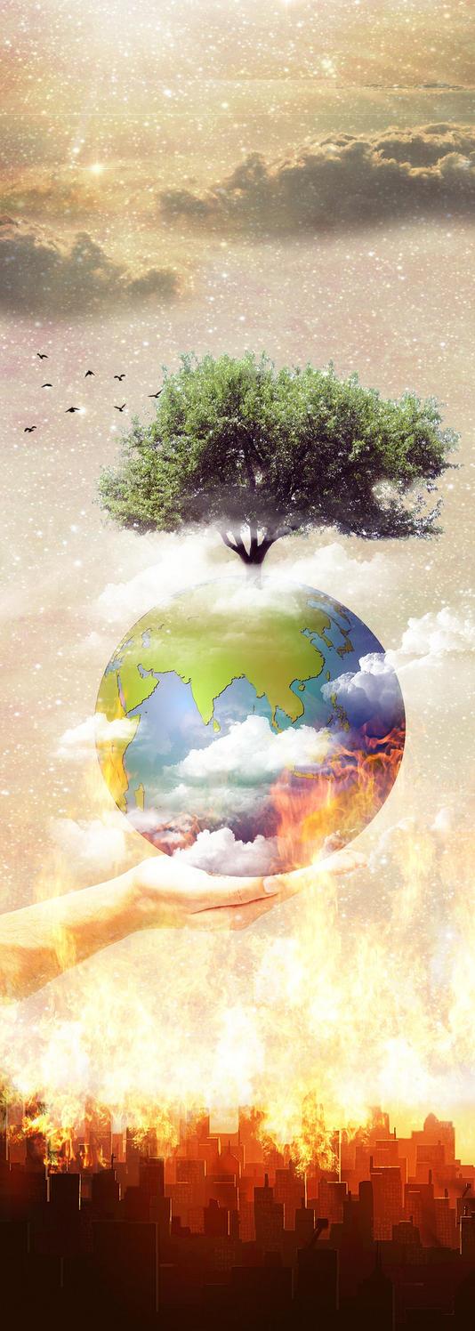 Go Green Poster by kouchimaru