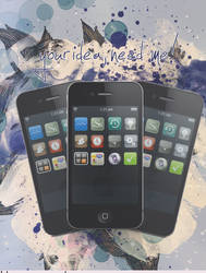 iPhone poster