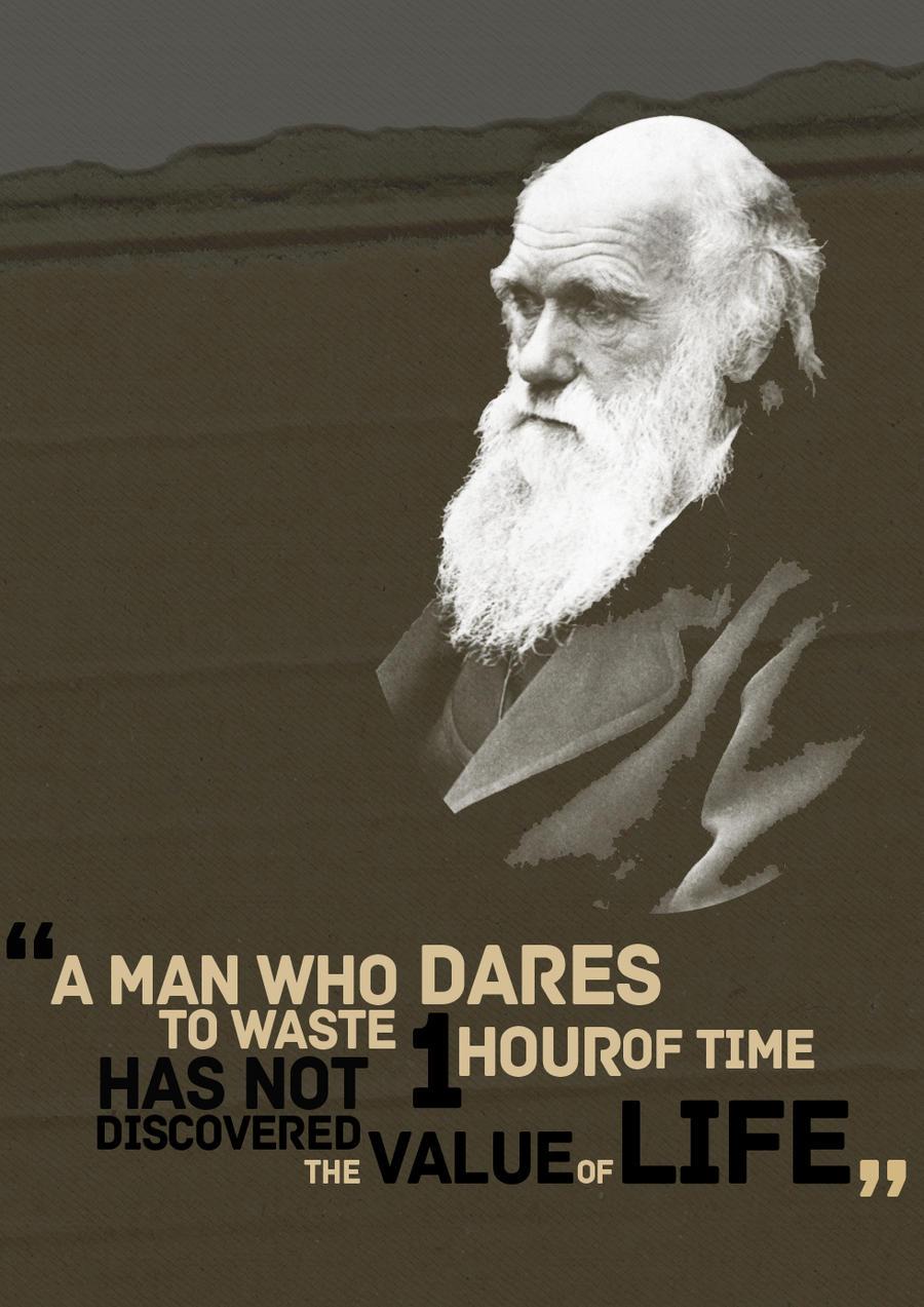 Charles Darwin by kouchimaru