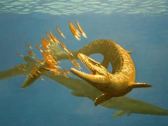 Prognathodon final by NathanLParker