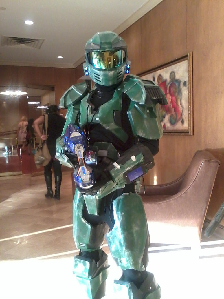 HALO Cosplay by MiyuKaitero88