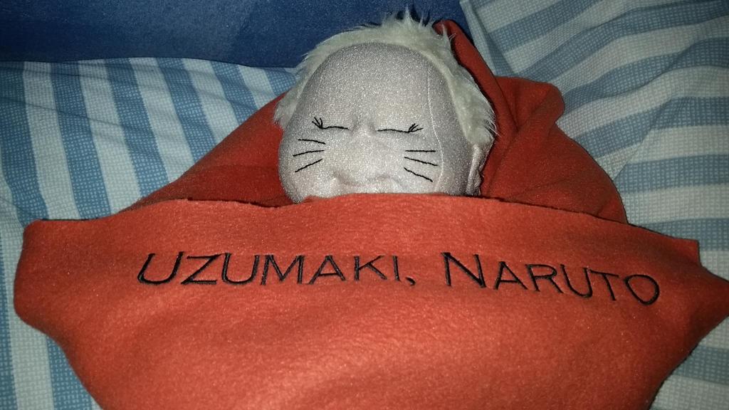 Naruto's Embroidered Blanket by MiyuKaitero88