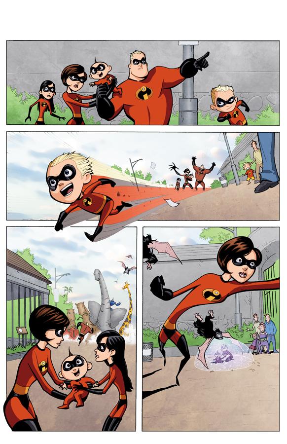 читать пошлые комиксы про суперсемейка