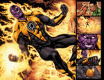 Green Lantern 17 pg 16 and 17