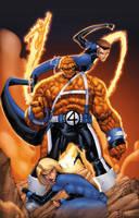 Fantastic Four by drewdown1976