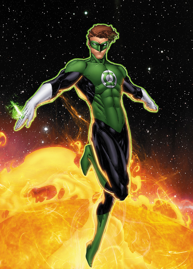 Green Lantern by drewdown1976