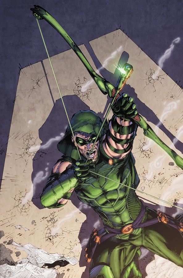 Green Arrow 1 cover by drewdown1976