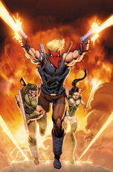 Grifter 9 Cover by drewdown1976