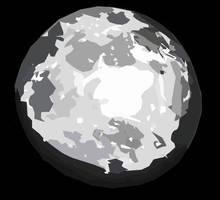 Moon Vector Art