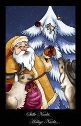 Christmas Card by darkburraki