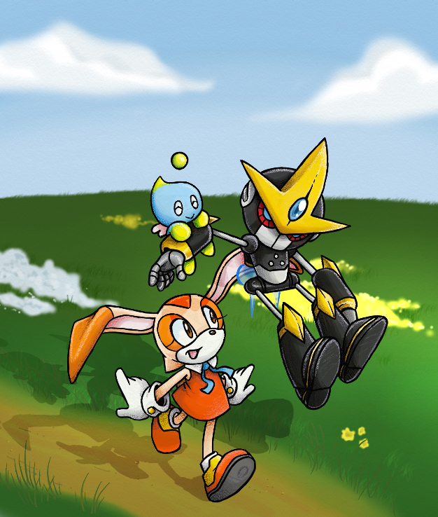 Sonic- Odd Friends by darkburraki