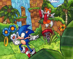 Sonic- Old Skool