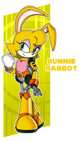 Sonic- SA Bunnie by darkburraki
