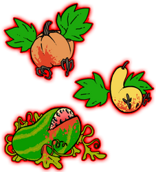 Vampire Vegetables by darkburraki