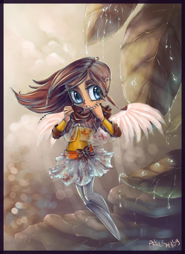 -Angel del Otono- by AllesiaTheHedge