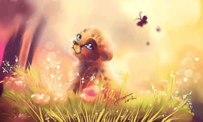 Little Cheetah by AllesiaTheHedge