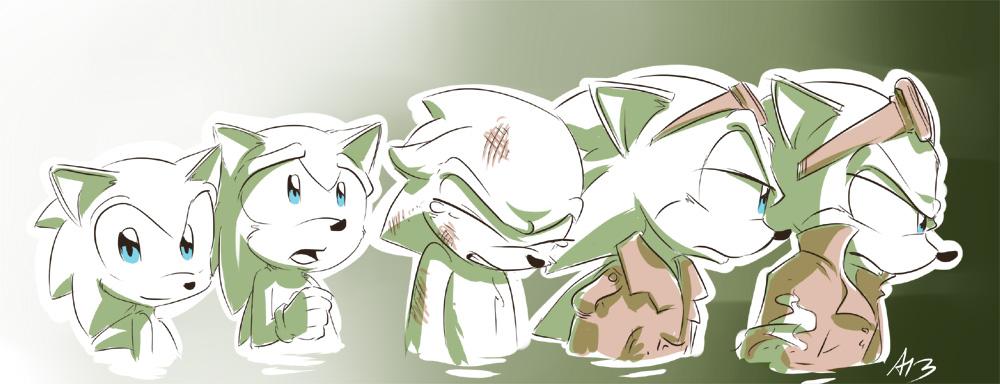Scourge The Hedgehog Fan Art