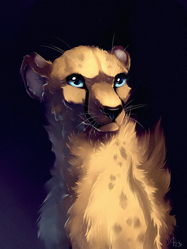 Save Cheetah by AllesiaTheHedge