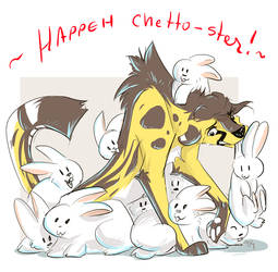 Happeh Chetto-ster! by AllesiaTheHedge