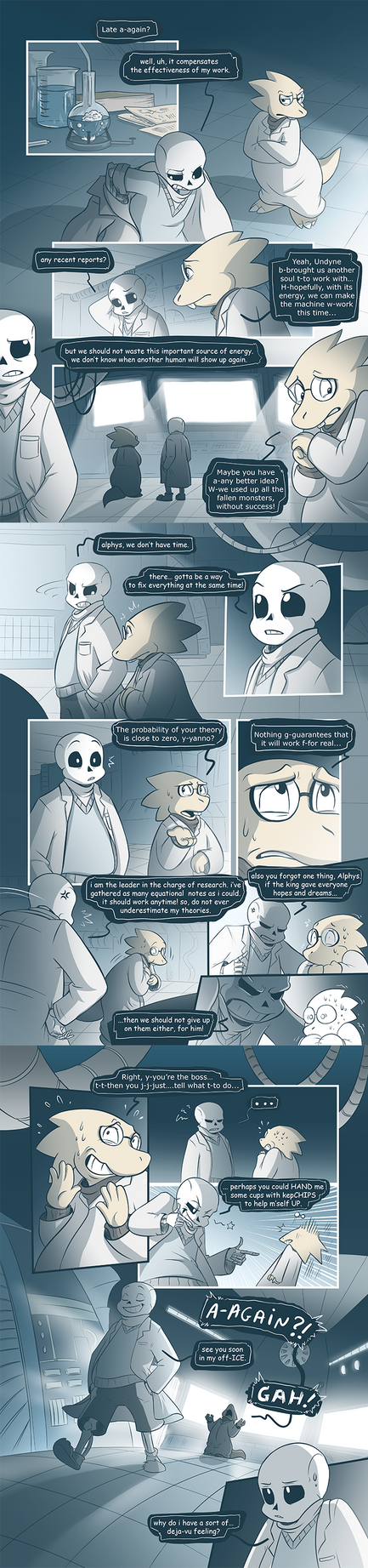 Timetale - Chapter 01 - Page 05-07 by AllesiaTheHedge