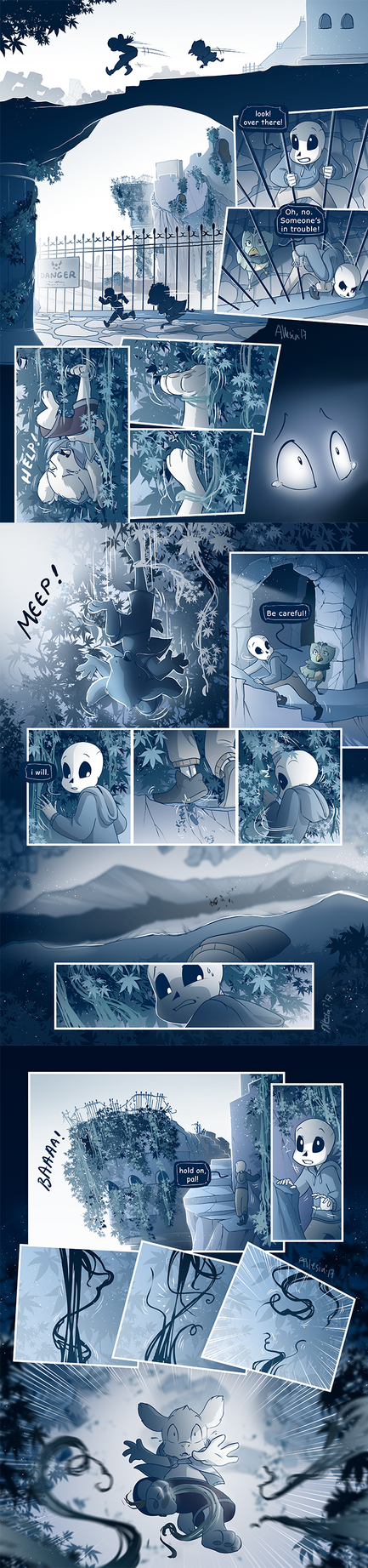 Timetale - Chapter 02 - Part I - Page 54-56 by AllesiaTheHedge