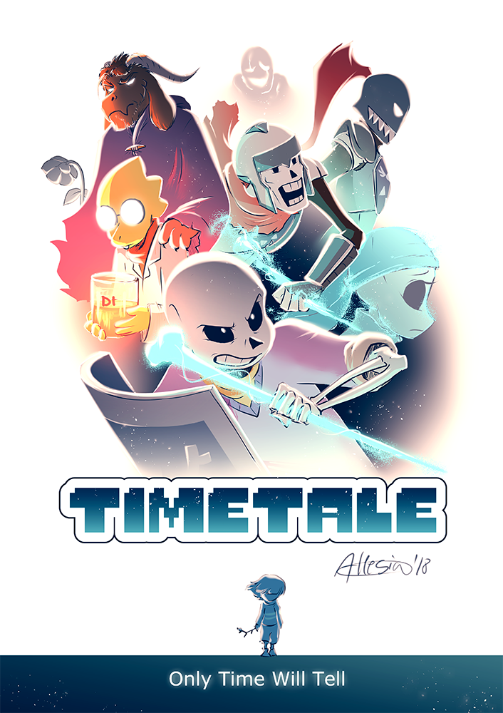 Timetale - Only Time Will Tell by AllesiaTheHedge